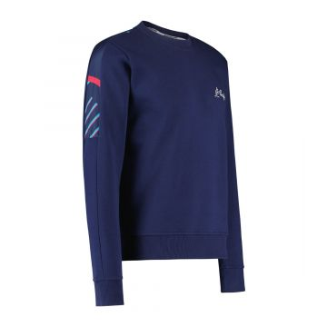 Australian sportswear crewneck lines   cosmo blauw