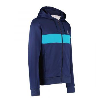 Australian sportswear trainingjack double graphic | cosmo blauw