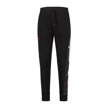Australian sportswear joggingbroek tape logo   zwart