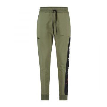 Australian sportswear joggingbroek tape logo   olijfgroen