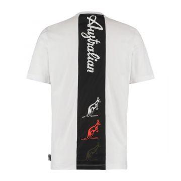 Australian sportswear T-shirt tape logo | wit