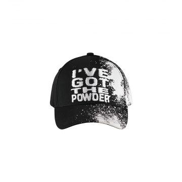 100% Hardcore cap I've got the powder | black