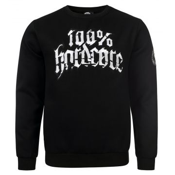 100% Hardcore crewneck stand your ground | black