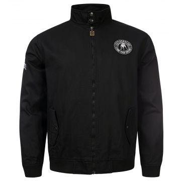 100% Hardcore harrington jacket stand your ground | black
