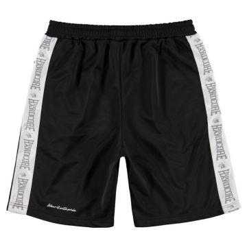 100% Hardcore Shorts Branded   black