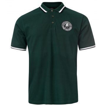 100% Hardcore polo stand your ground   army green