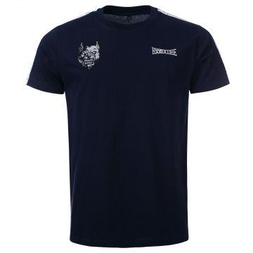 100% Hardcore T-shirt branded | blue