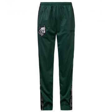 100% Hardcore tracksuit bottoms Branded | green