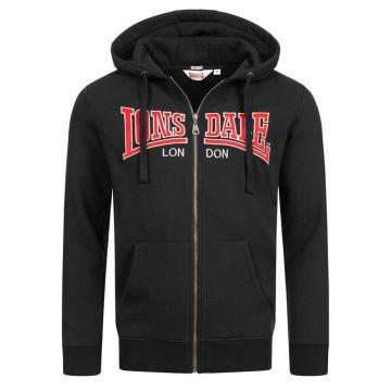 Lonsdale zip hoodie Birmingham | zwart