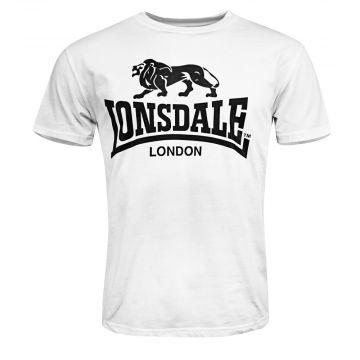 Lonsdale T-shirt LOGO | wit