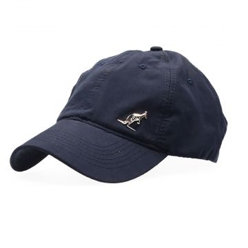 Australian cap with silver logo and embroidery | navy blue
