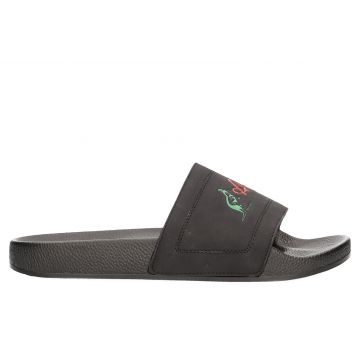 Australian slippers | logo traditional X black