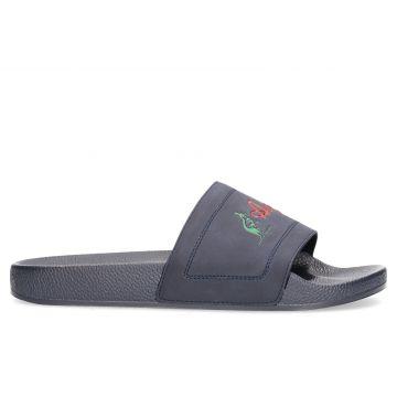 Australian slippers | logo traditional X navy