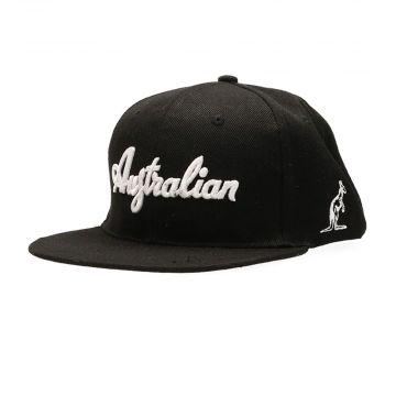 Australian snapback deluxe black