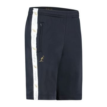 Australian bermuda with two zippers and a white stripe 2.0   navy blue