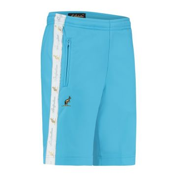 Australian bermuda with two zippers and a white stripe 2.0   smurf blue
