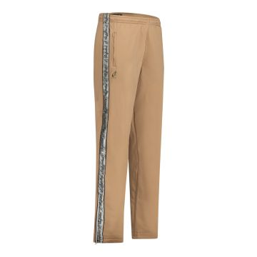 Australian pants with silver stripe and 2 zippers 2.0   bronze