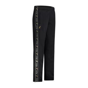 Australian pants with black stripe and 2 zippers 2.0 | black