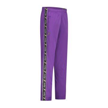Australian pants with black stripe and 2 zippers 2.0   purple