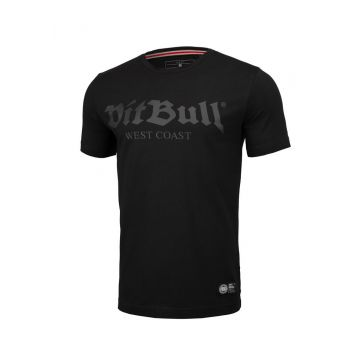 Pit Bull T-shirt slim fit old logo   black