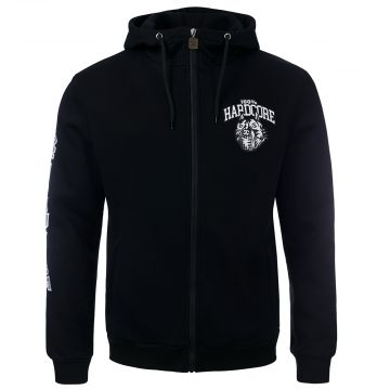 100% Hardcore hoodie with zipper   Stand Up