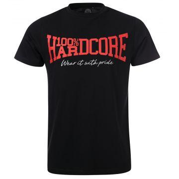 100% Hardcore T-shirt Classic | zwart