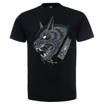 100% Hardcore T-shirt LUPO | black