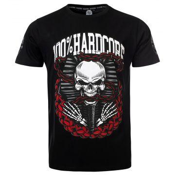 100% Hardcore T-shirt DEAD KINGS | zwart