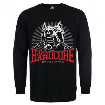 100% Hardcore longsleeve *Dog-1* | black