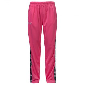 100% Hardcore track pants with stripe CLASSIC | pink