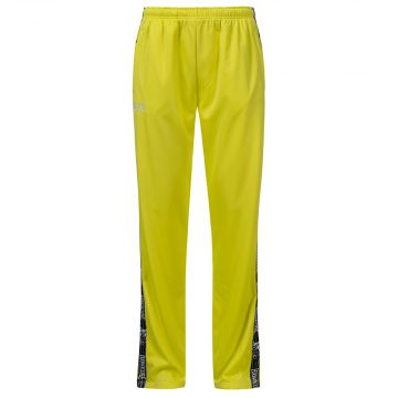 100% Hardcore track pants with stripe CLASSIC | yellow
