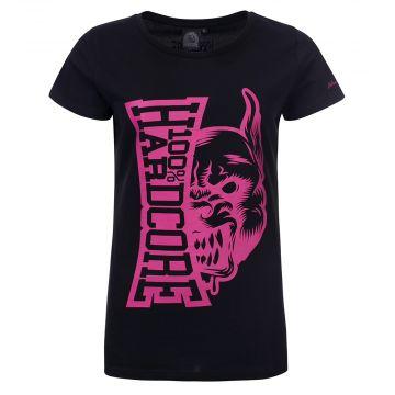 100% Hardcore ladies T-shirt Rage | black