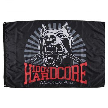 100% Hardcore flag   *Dog-1*