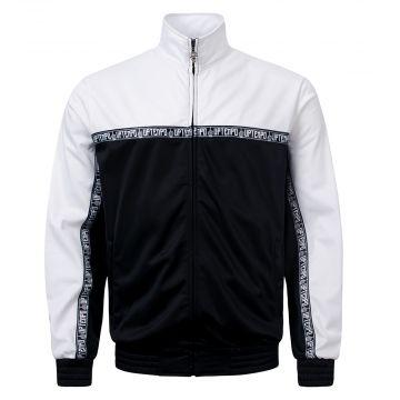 Uptempo training jacket STATEMENT | black - white