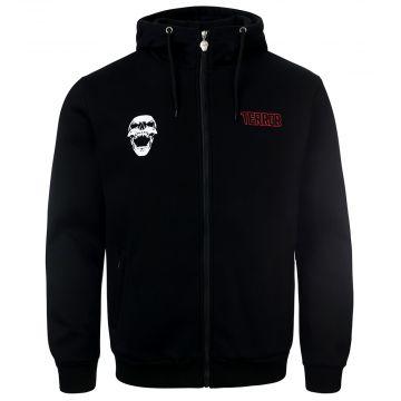 Terror hooded zip the noisemakers | black