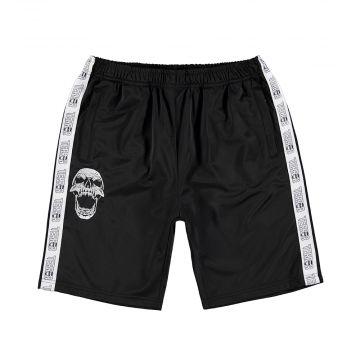 Terror shorts with stripe classic | black