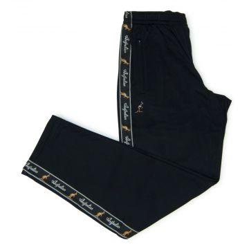 Australian pants black stripe | black
