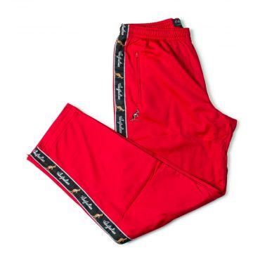 Australian pants black stripe | red