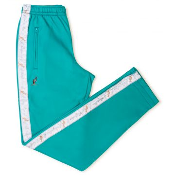 Australian pants white stripe | turquoise