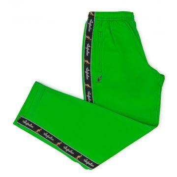 Australian pants black stripe | kawasaki green