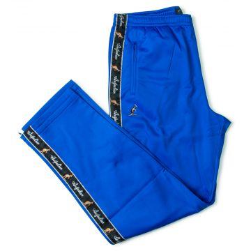 Australian pants black stripe | royal blue