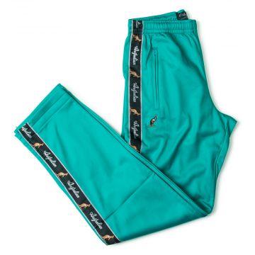 Australian pants black stripe | turquoise