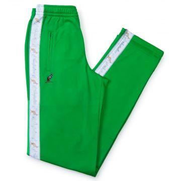 Australian pants white stripe | kawasaki green