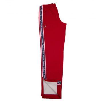 Australian pants red stripe | bordeaux red