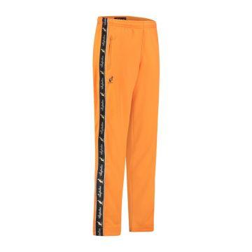 Australian pants with black stripe and 2 zippers 2.0   neon orange