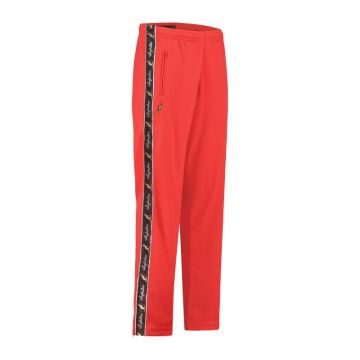 Australian pants with black stripe and 2 zippers 2.0   red
