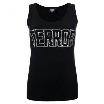 Terror ladies singlet essential   black