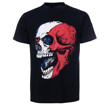 Frenchcore T-shirt toxic death | black