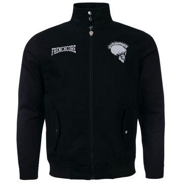 Frenchcore harrington jacket la revolution | black