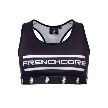 Frenchcore sporttop the brand | black